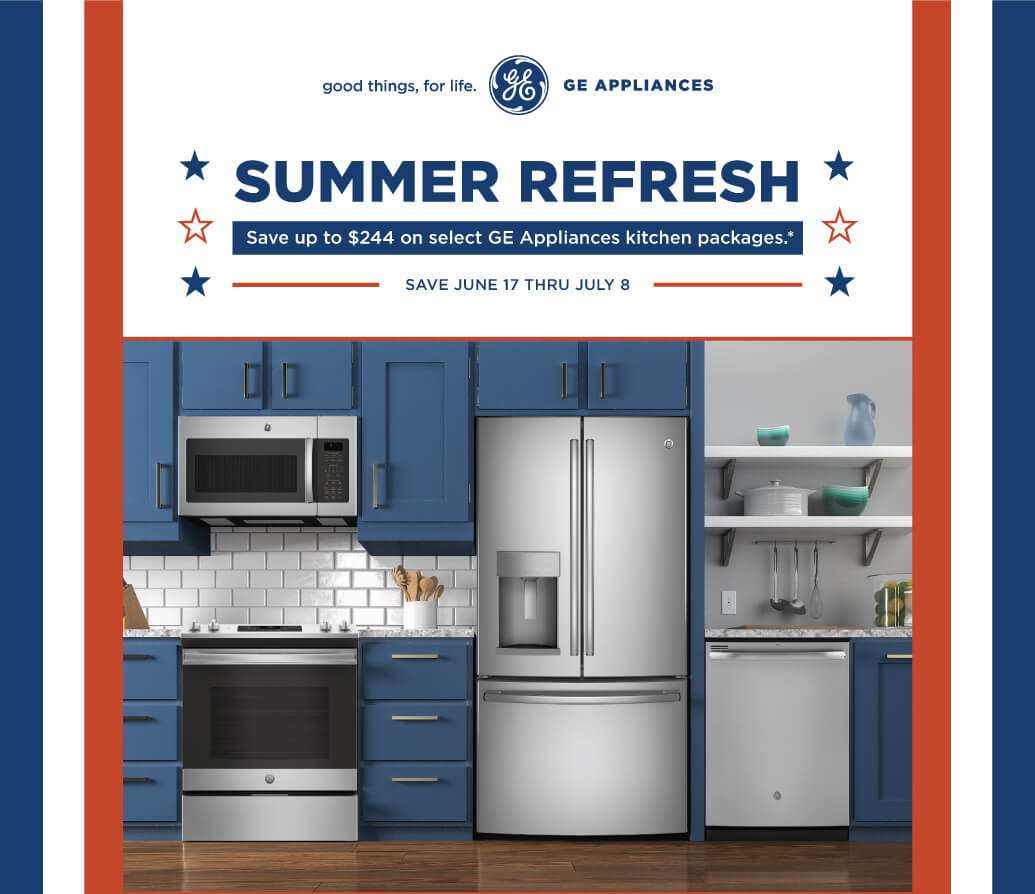 GE Appliances Summer Refresh